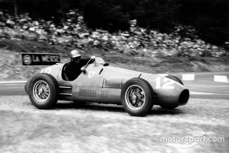 Piero Taruffi (Ferrari) - GP Suisse 1952