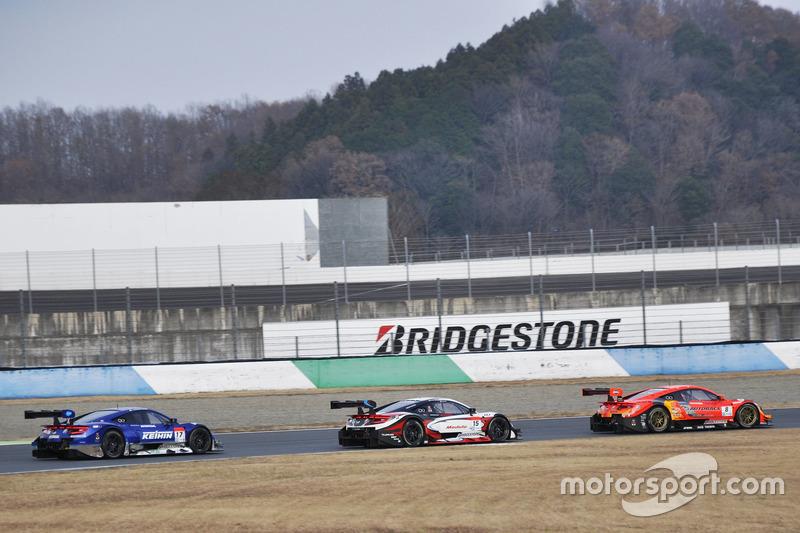 Conducción, Super GT series (CONCEPTO de NSX-GT)