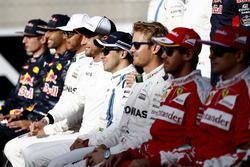 Felipe Massa, Williams, lors de la photo de famille des pilotes