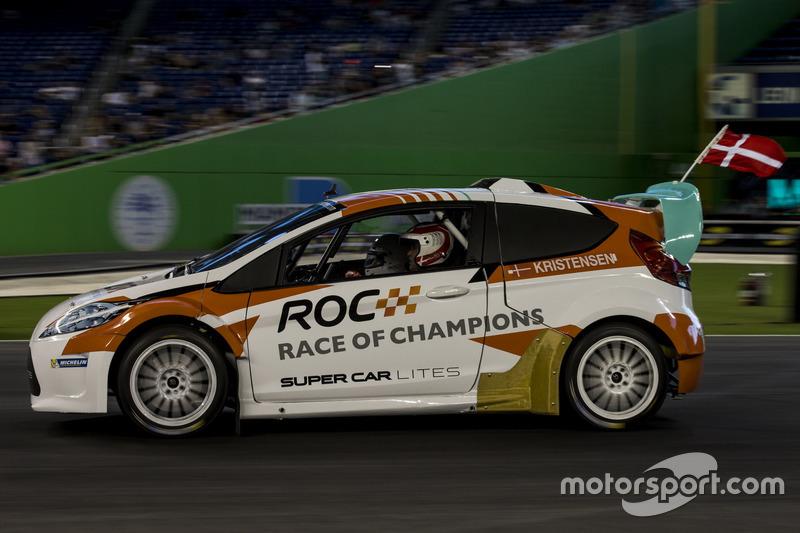 Tom Kristensen, conduce el RX Supercar Lite