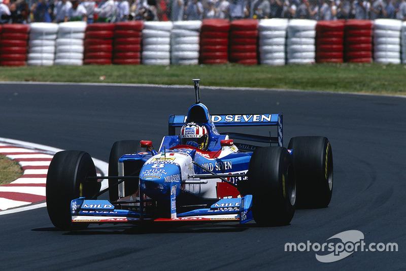 Александр Вурц, Benetton, 1997 год