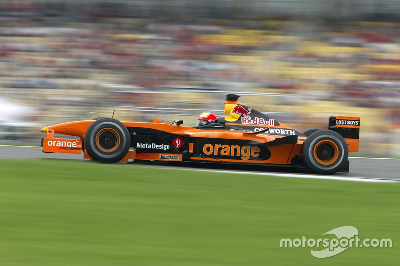 Enrique Bernoldi, Arrows Cosworth A23