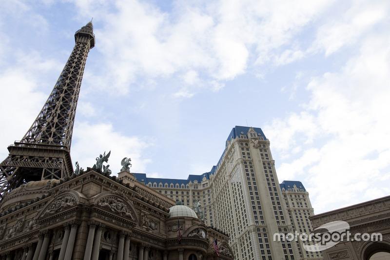 Mock Tour Eiffel en el Hotel Paris Las Vegas