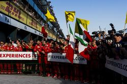 Ferrari en el Parc Ferme