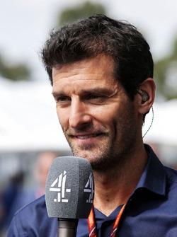 Mark Webber, Channel 4 Presenter