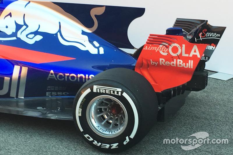 Toro Rosso STR12 rear detail