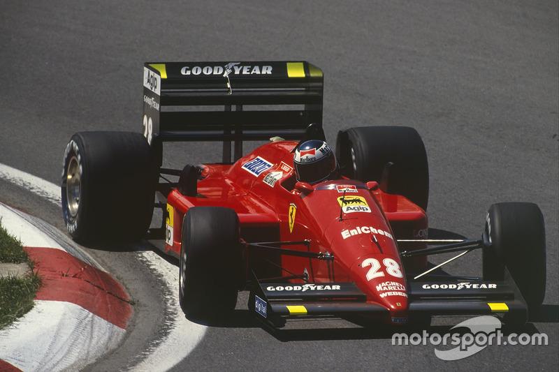 1988: Ferrari F187/88C (одна победа, 2-е место в КК)