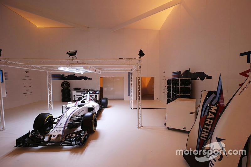 Williams Martini Racing staat er goed bij