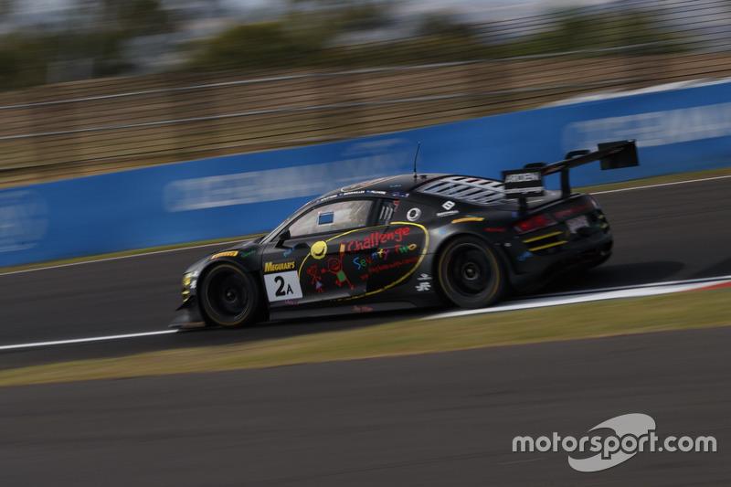#2 DJS Racing, Audi R8 LMS Ultra: Daniel Stuttard, James Bergmuller, Samuel Fillmore
