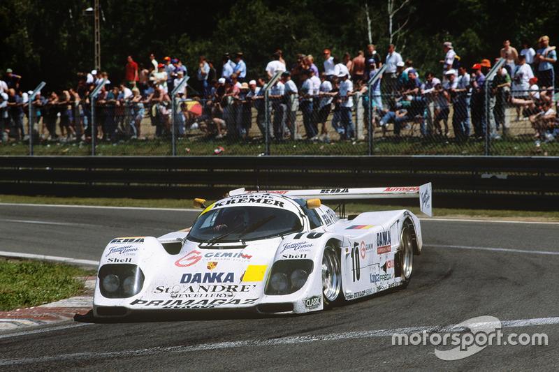 #10 Kremer Racing Porsche 962CK6: Jürgen Lassig, Giovanni Lavaggi, Wayne Taylor