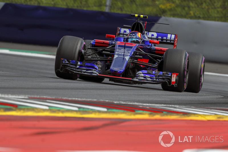 10 місце - Карлос Сайнс, Toro Rosso