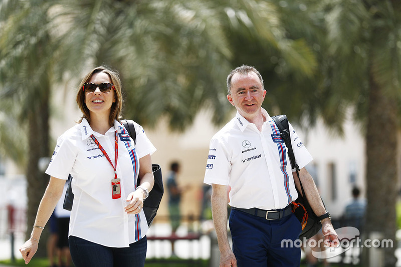 Claire Williams, Williams, Stellvertretende Teamchefin; Paddy Lowe, Williams, Technikchef