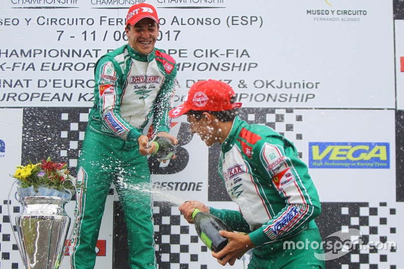 Pedro Hiltbrand y David Vidales, Tony Kart