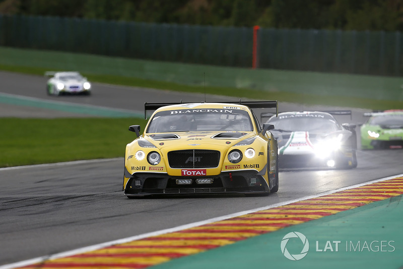 #9 Bentley Team ABT Bentley Continental GT3: Nico Verdonck, Christer J?ns, Jordan Pepper