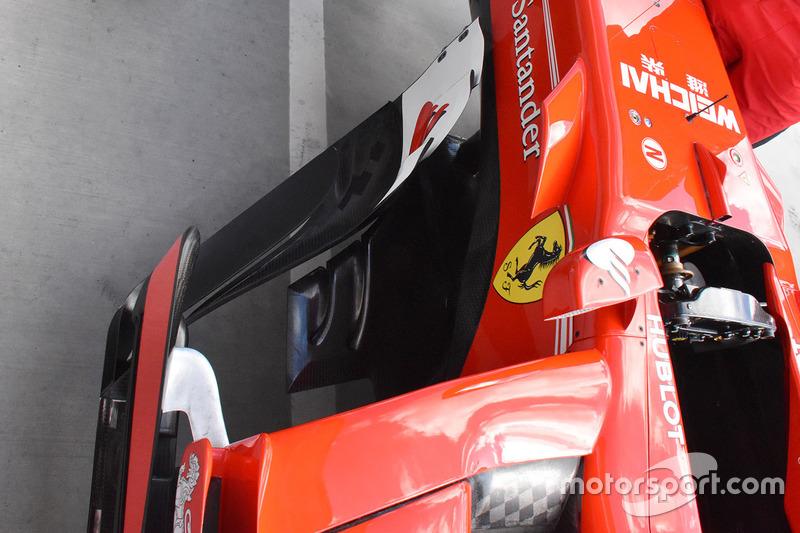 Ferrari SF70-H, sidepods