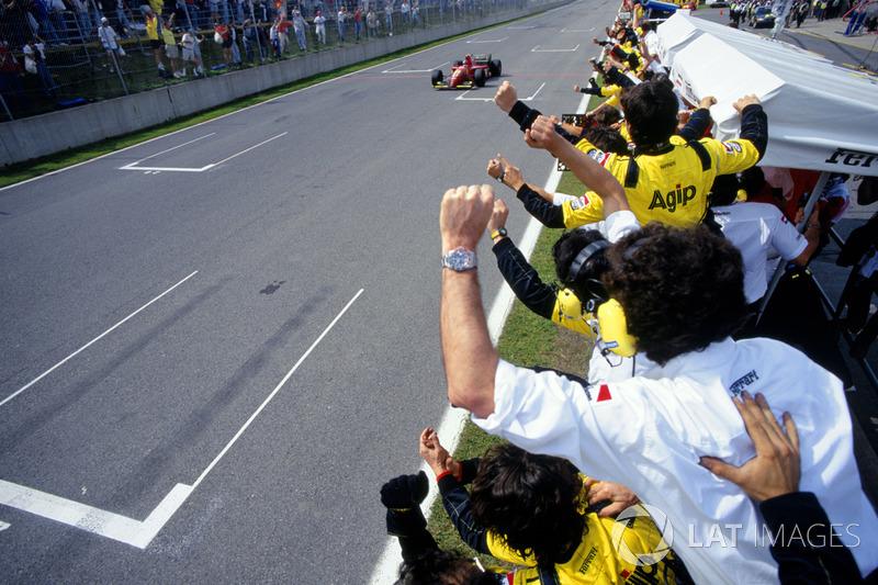 1995. Переможець: Жан Алезі, Ferrari