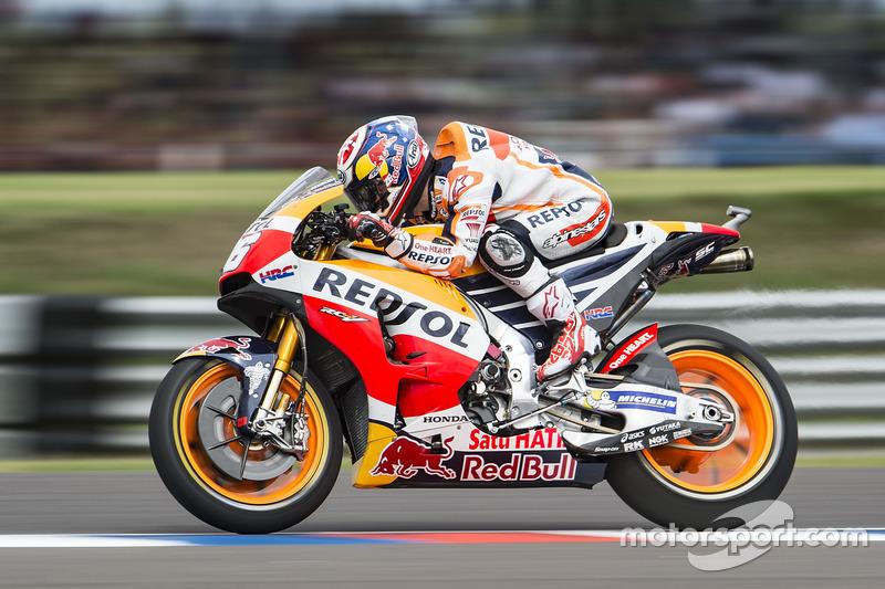 Übungsstart: Dani Pedrosa, Repsol Honda Team