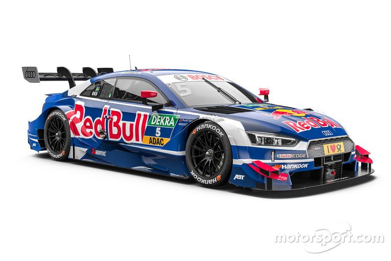 #5: Mattias Ekström, Audi Sport Team Abt Sportsline, Audi RS 5 DTM