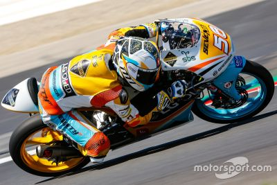 Moto3-Test in Spielberg, August