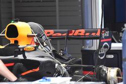 Dettaglio posteriore della monoposto di Daniel Ricciardo, Red Bull Racing RB13