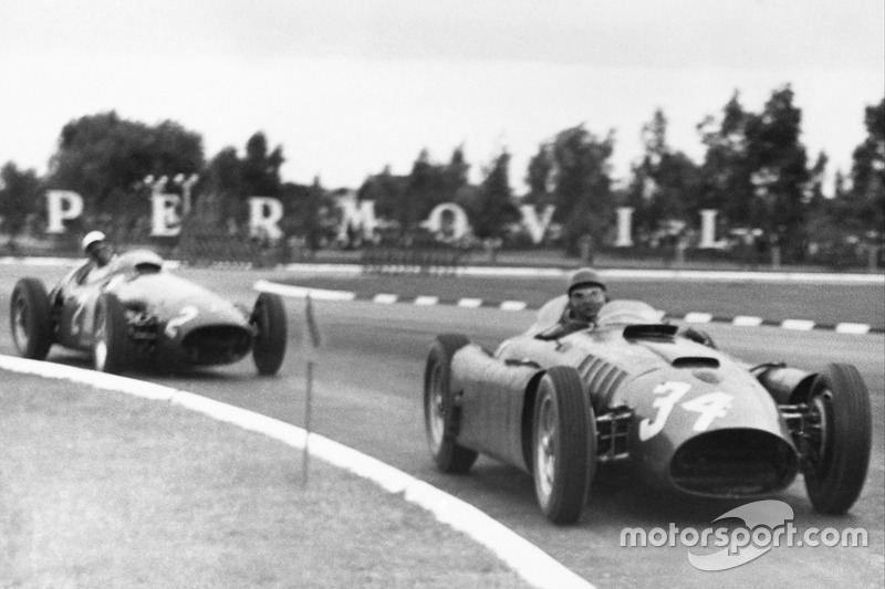 Luigi Musso (Ferrari) - GP Argentina 1956