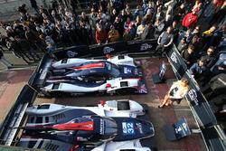 #2 United Autosports, Ligier JS P3 - Nissan: Джон Фальб и Шон Рейхолл, #32 United Autosports, Ligier JSP217 - Gibson: Уилл Оуэн, Юго де Саделер и Филипе Альбукерк
