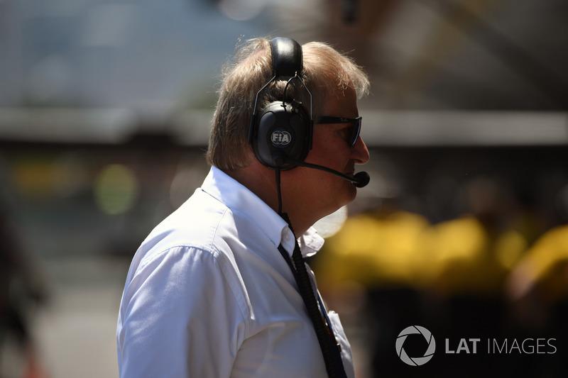 Jo Bauer, Technischer Delegierter, FIA