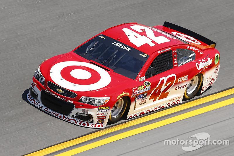 #42 Kyle Larson (Ganassi-Chevrolet)