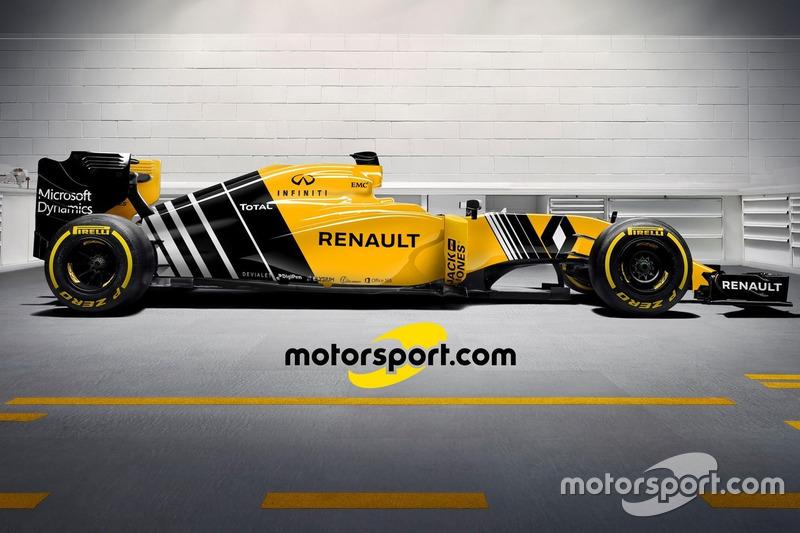 Nuestro diseño para el nuevo Renault RS16 -Opción A