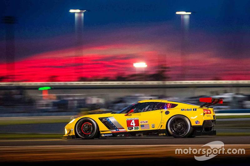 1. #4 Corvette Racing Chevrolet Corvette C7.R: Oliver Gavin, Tommy Milner, Marcel Fässler