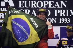 Racewinnaar Ayrton Senna, McLaren