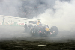 David Coulthard nella sua Red Bull Racing RB3