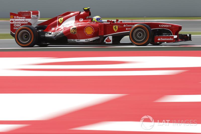 """2013: سيارة فيراري """"اف138"""" – 112 نقطة، المركز الثامن في البطولة"""