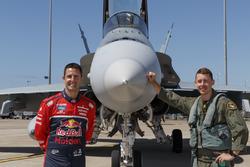 Jamie Whincup, Triple Eight Race Engineering with RAAF Flight Lieutenant Matthew Trayling's Royal Au