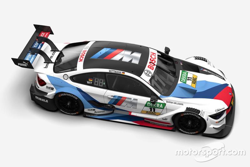 Автомобиль BMW M4 DTM Марко Виттмана, BMW Team RMG
