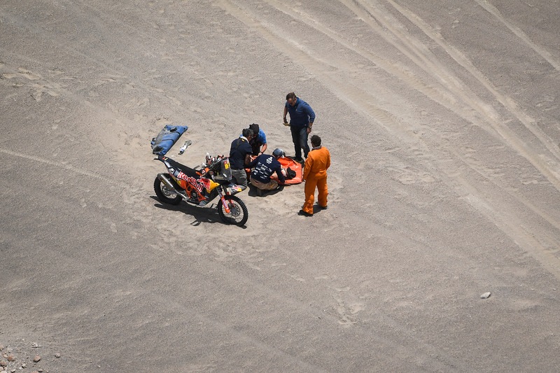 #1 Red Bull KTM Factory Racing KTM: Sam Sunderland