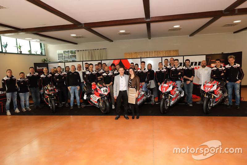 Xavi Forés, Barni Racing Team, Michele Pirro, Barni Racing Team, Samuele Cavalieri, Barni Racing Team, Matteo Ferrari, Barni Racing Team