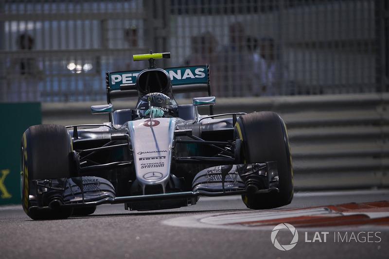 2016: Juara dunia, Nico Rosberg, Mercedes AMG F1 W07 Hybrid
