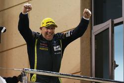 Podium LMGTE AM: winner Paul Dalla Lana, Aston Martin Racing