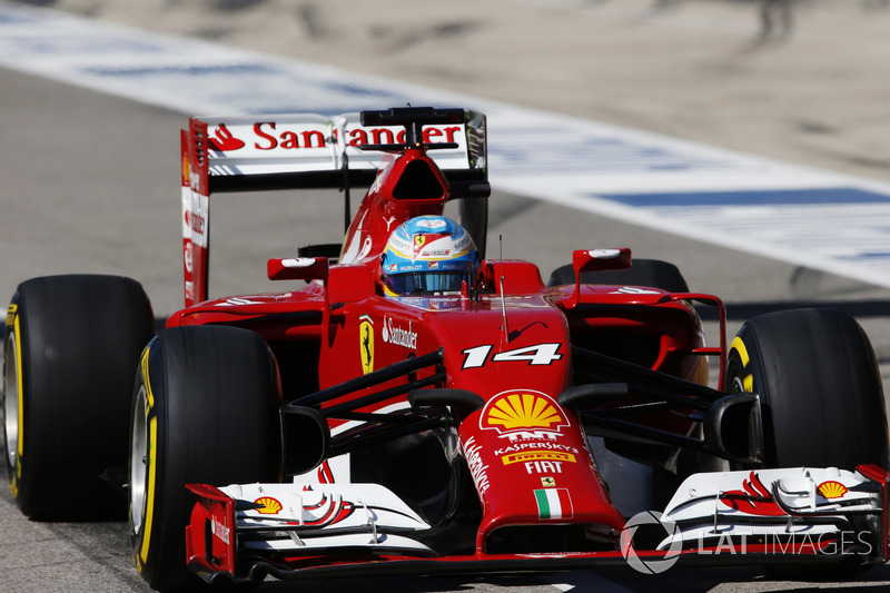 Fernando Alonso – 29 GPs (China 2013 a Bélgica 2014)