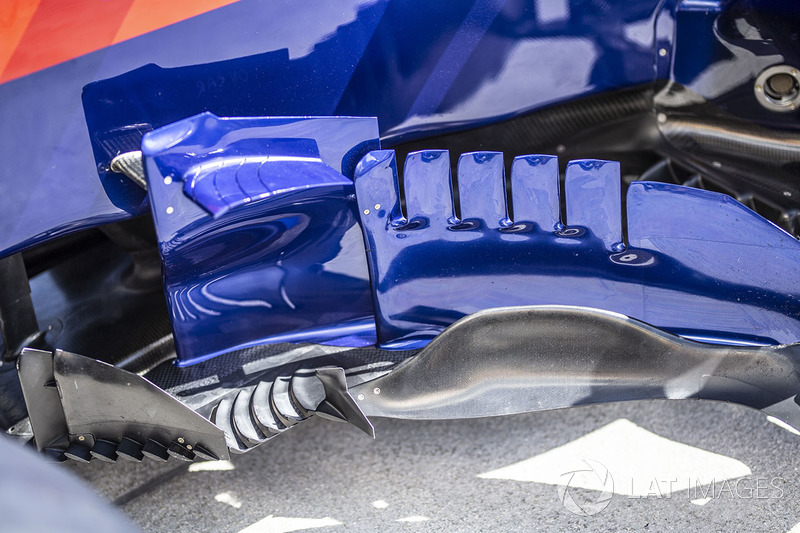 Бічні дефлектори Scuderia Toro Rosso STR13