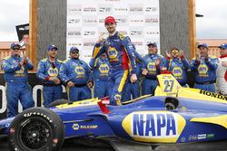 Переможець Александр Россі, Andretti Autosport Honda