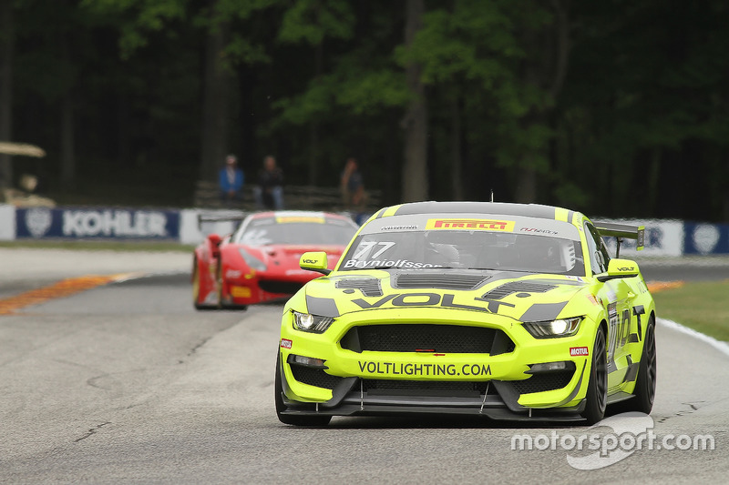 77 Volt Racing Ford Mustang Gt4 Alan Brynjolfsson At Road America