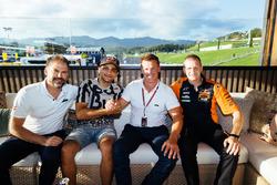 Jens Hainbach, Jorge Martin, Pit Beirer and Aki Ajo, Red Bull KTM Ajo team