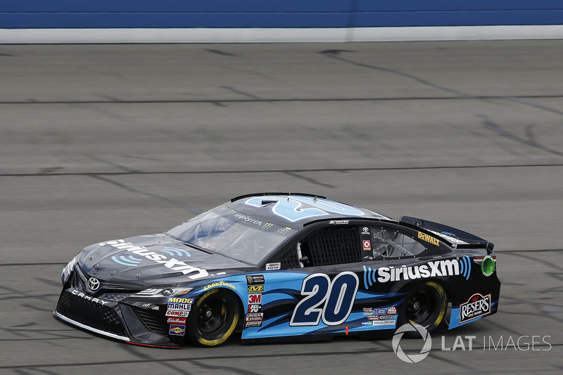 4. Erik Jones, No. 20 Joe Gibbs Racing Toyota Camry