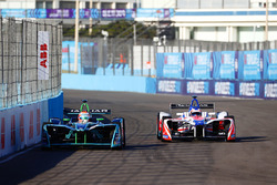 Mitch Evans, Jaguar Racing, Felix Rosenqvist, Mahindra Racing
