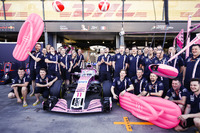 Force India ve yeni sponsoru Havaianas