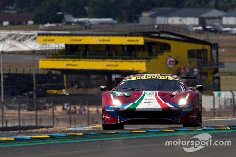 Алессандро Пьергвиди, Джеймс Каладо, Даниэль Серра, AF Corse, Ferrari 488 GTE Evo (№51)