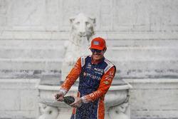 Райан Хантер-Рей, Andretti Autosport Honda, Скотт Діксон, Chip Ganassi Racing Honda, Алекс Россі