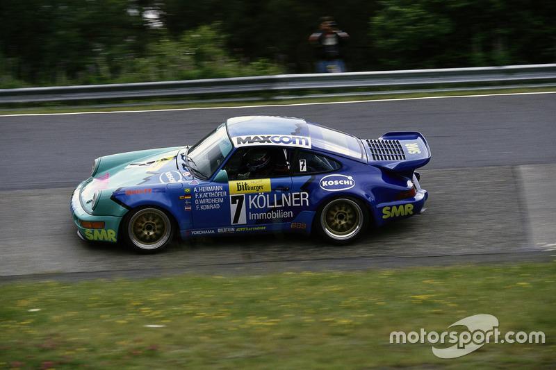 1993: Франк Каттёфер, Антониу де Азеведу, Франц Конрад, Эрнульф Вирдхайм – Porsche 911 Carrera